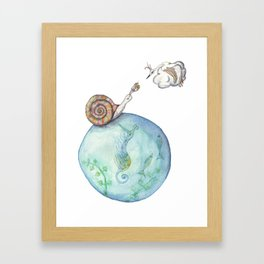 The Encounter Framed Art Print