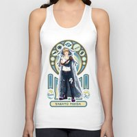 digimon Tank Tops featuring Digimon Cards: Matt by Dralamy