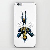 x men iPhone & iPod Skins featuring X-Men by Nicola Girello