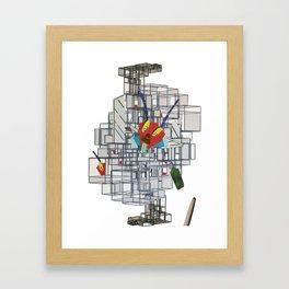 The cricket war1 Framed Art Print