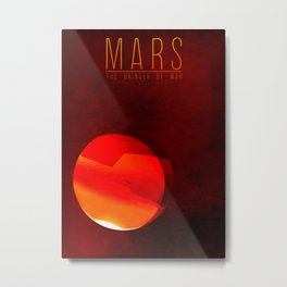 Mars - The Bringer of War Metal Print