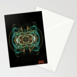 PG - Human Flag Coat-of-Arms Stationery Cards