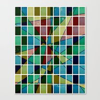 mosaic Canvas Prints featuring Mosaic by Tammy Kushnir