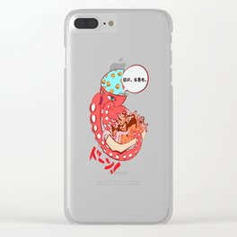 Tako Bell Clear iPhone Case