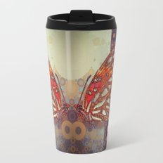 Golden Butterfly Travel Mug