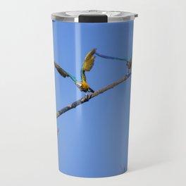 Birds from Pantanal Arara canindé, juntos é bem melhor Travel Mug