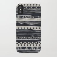 aztec iPhone & iPod Cases featuring aztec by spinL