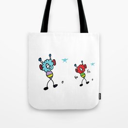 Happy Fluffs Tote Bag