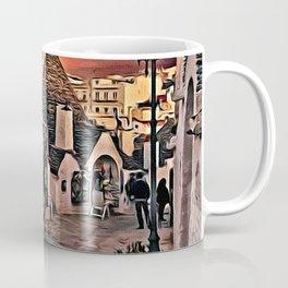 Night time in Alberobello Coffee Mug