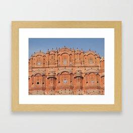 Hawa Mahal (Palace of Winds) in Jaipur, India (2004a) Framed Art Print