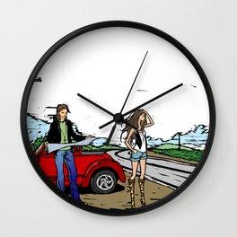Lost way Wall Clock