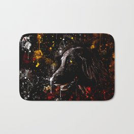 black labrador retriever dog wsstd Bath Mat