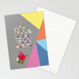 Secret Agent Stationery Cards