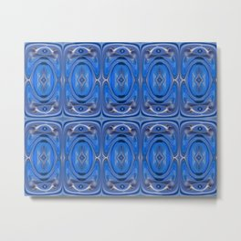 Cellularphonic in Blue Metal Print