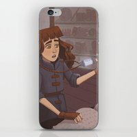 chemistry iPhone & iPod Skins featuring Chemistry Room by Alyssa Tallent