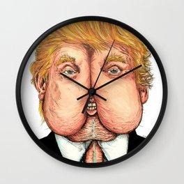 Trump Rump Wall Clock