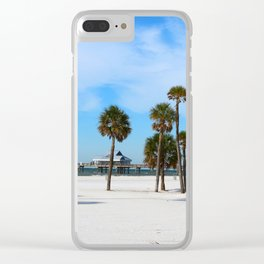 A Florida Winterday Clear iPhone Case