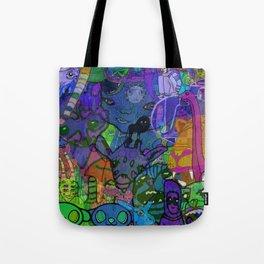 MULTIVERSE MURAL Tote Bag
