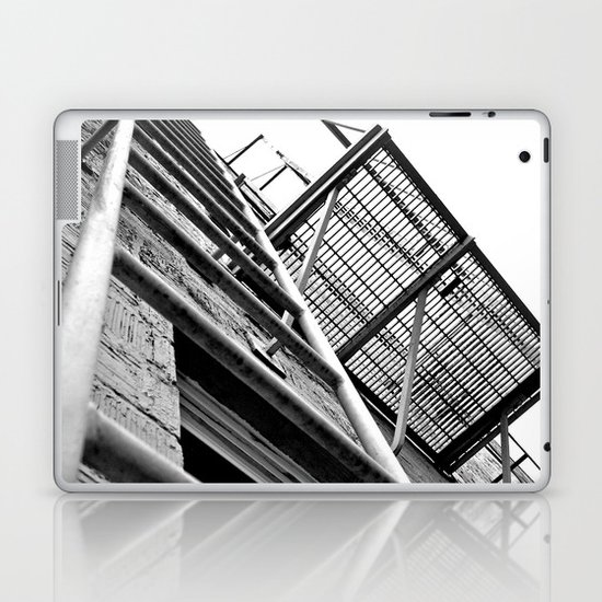 Alley balcony Laptop & iPad Skin