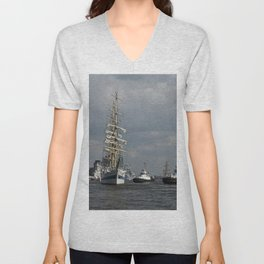 On the water Unisex V-Neck