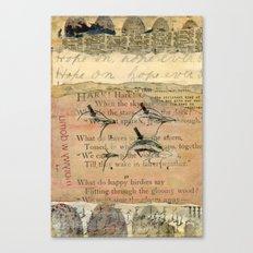 Hope On Canvas Print