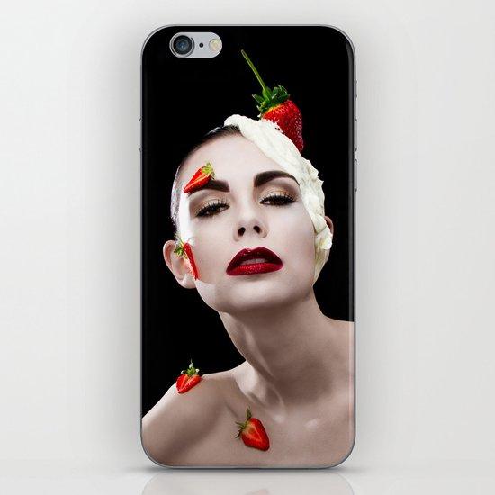 Strawberries & Cream iPhone & iPod Skin