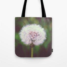 dandelion flower Tote Bag