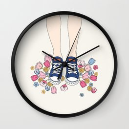 In my shoes Wall Clock