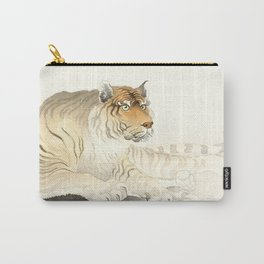 Tiger - Vintage Japanese woodblock print Carry-All Pouch