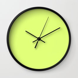 Juicy lime . Wall Clock