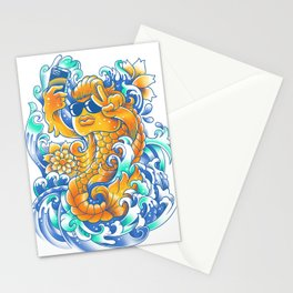 Selfie-ish Fishtail-ish Stationery Cards