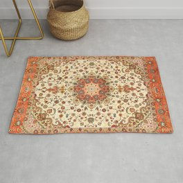 Bohemian Traditional Moroccan Style Artwork Rug