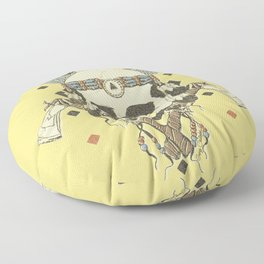 DEAD INJUN Floor Pillow