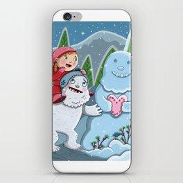 Valentine Yeti iPhone Skin