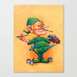 Elf Alexlander - Toys Department Canvas Print