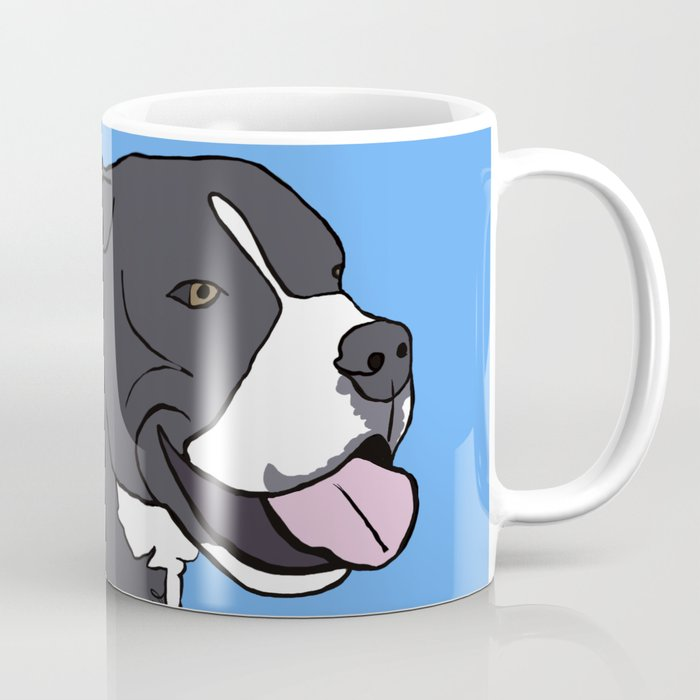 Cash The True Bluenose Pit Bull Coffee Mug