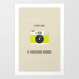 A Picture's Worth Art Print