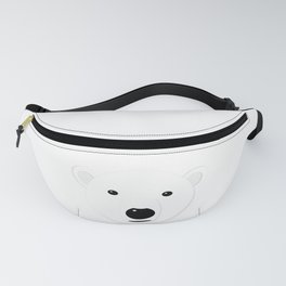 Cartoon Polar Bear Adult Fanny Pack