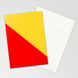 flag of palermo Stationery Cards
