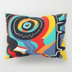 Wild Heart Street Art Graffiti Primitive Pillow Sham