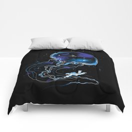 Universe Is a Big Jellyfish Comforters