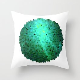 Fragment Throw Pillow