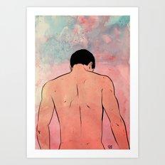 Shoulders Art Print