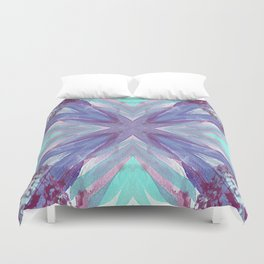 Watercolor Abstract Duvet Cover