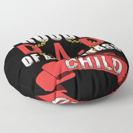 Dad Daddy Father Day Smart Ass Kid Floor Pillow
