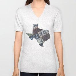 Vintage Texas Unisex V-Neck