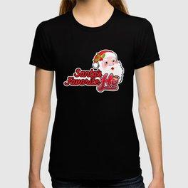 Santa's Favorite Ho | Christmas Wordplay T-shirt