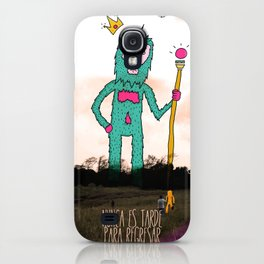 It's never to late to come back... iPhone Case