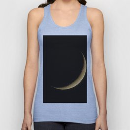 The Moon Sliver (Color) Unisex Tank Top