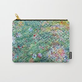 colorful flower filed Carry-All Pouch